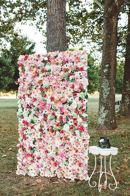 Parete di fiori 🌸📷 per Photobooth! 2