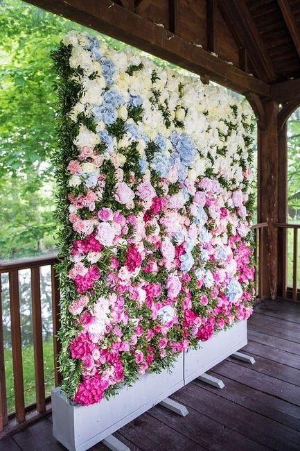 Parete di fiori 🌸📷 per Photobooth! 14