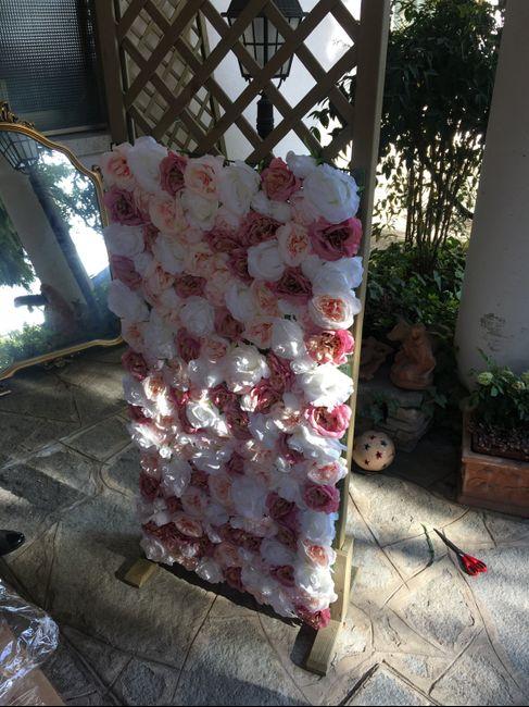 Parete di fiori 🌸📷 per Photobooth! 21