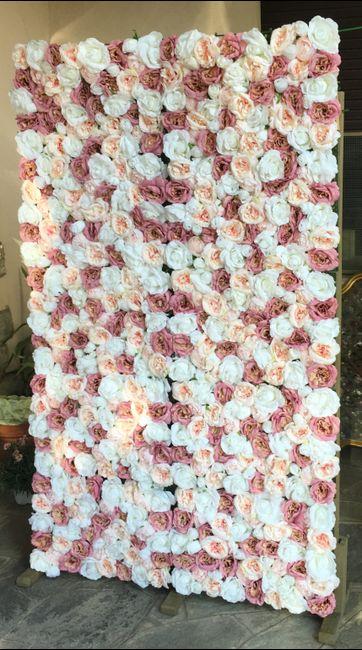 Parete di fiori 🌸📷 per Photobooth! 23