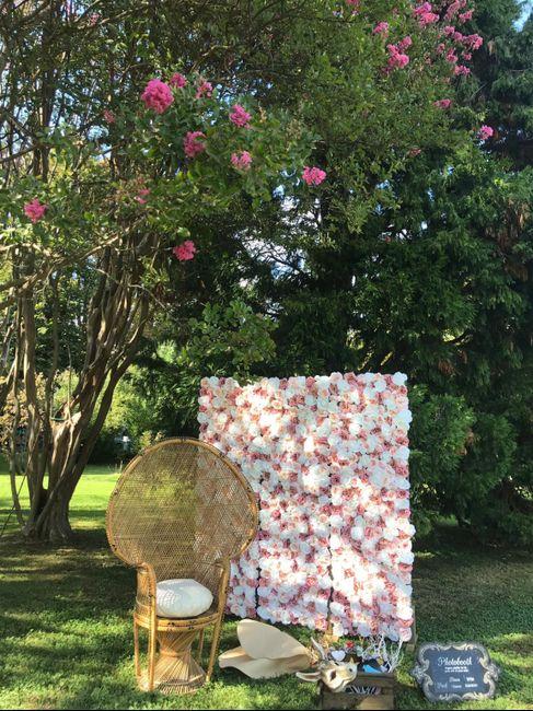 Parete di fiori 🌸📷 per Photobooth! 25