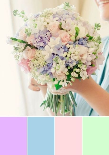 Palette colori matrimonio. 4