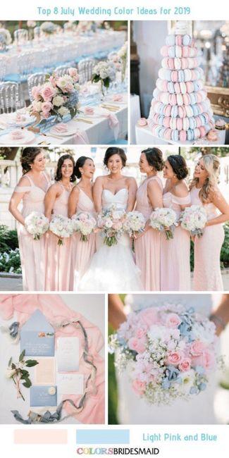 Palette colori matrimonio. 10