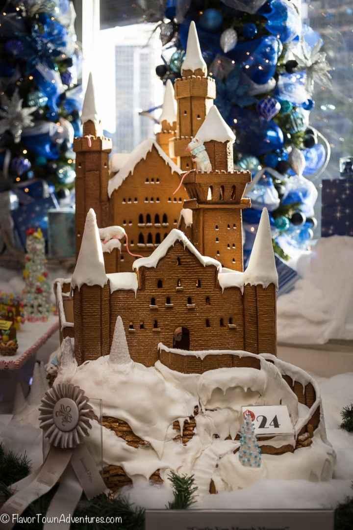 Christmas wedding cake! - 3