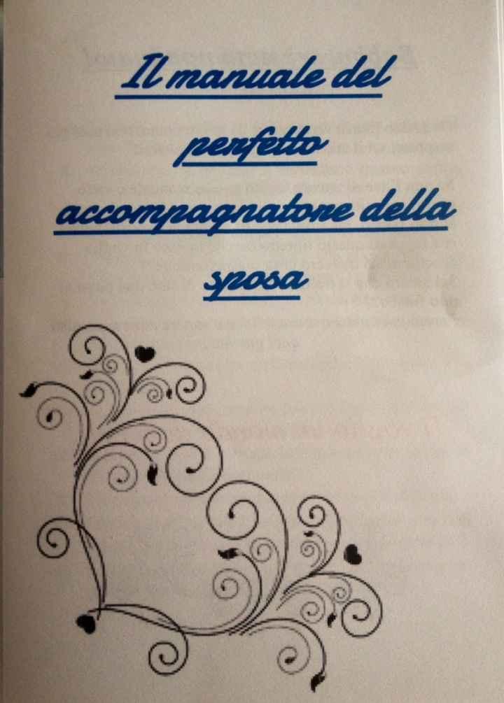 Manuale perfetto accompagnatore della sposa - 1