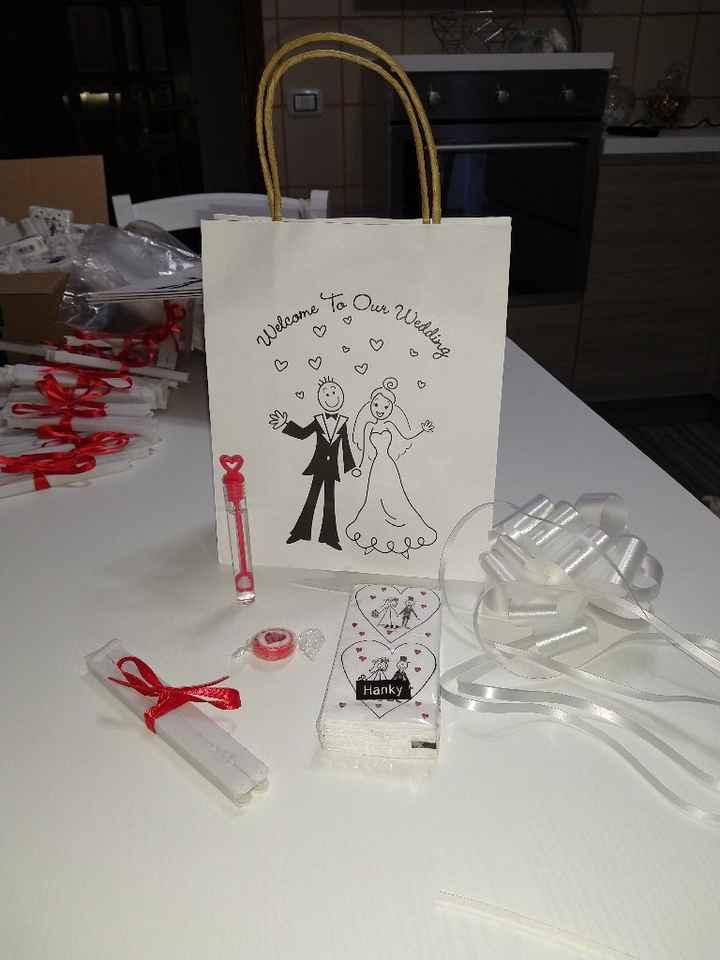 Le nostre wedding bag 😍 - 1