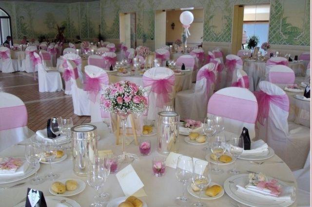 allestimento sala - Foto Organizzazione matrimonio