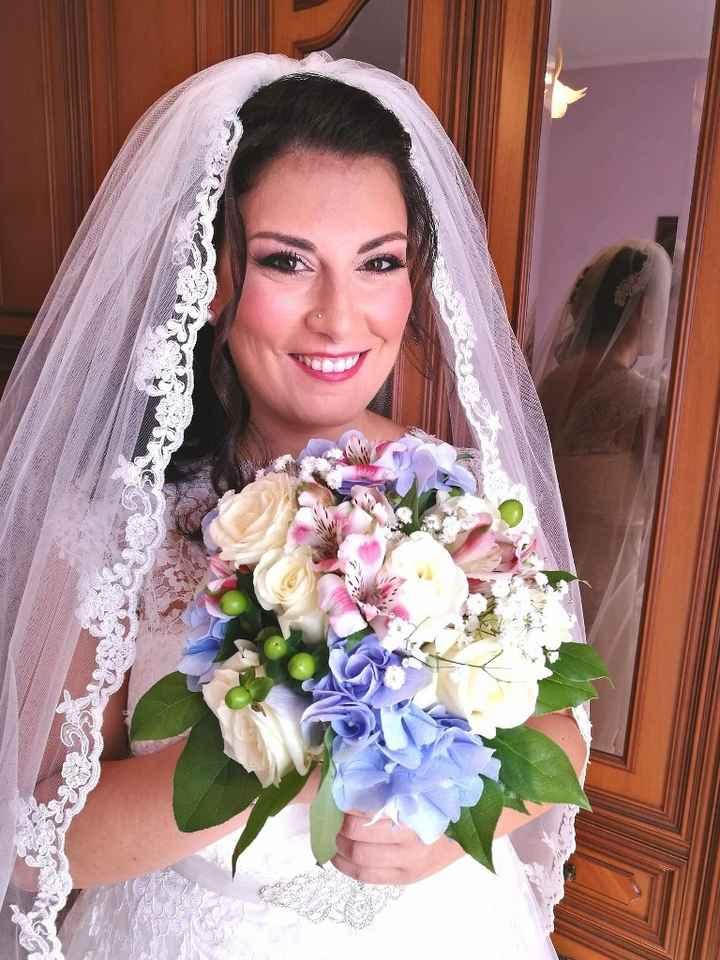 Bouquet matrimonio Romantico - 1