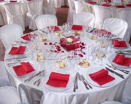 Matrimonio Tema Rosso E Bianco : Tema bianco rosso foto organizzazione matrimonio
