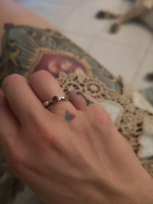 Anello di fidanzamento 2