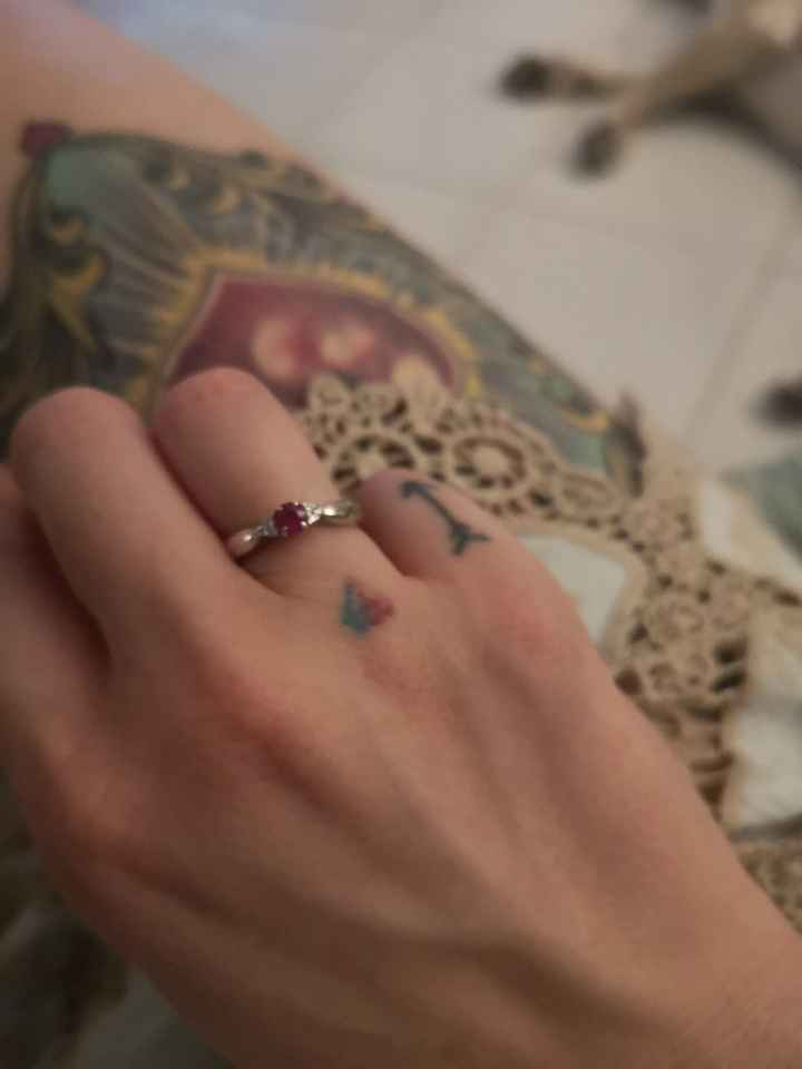 Anello di fidanzamento - 2