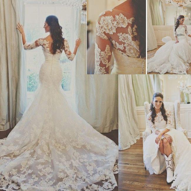 Ragazze avete mai acquistato un abito da sposa su aliexpress   - 1 5d19cc89743