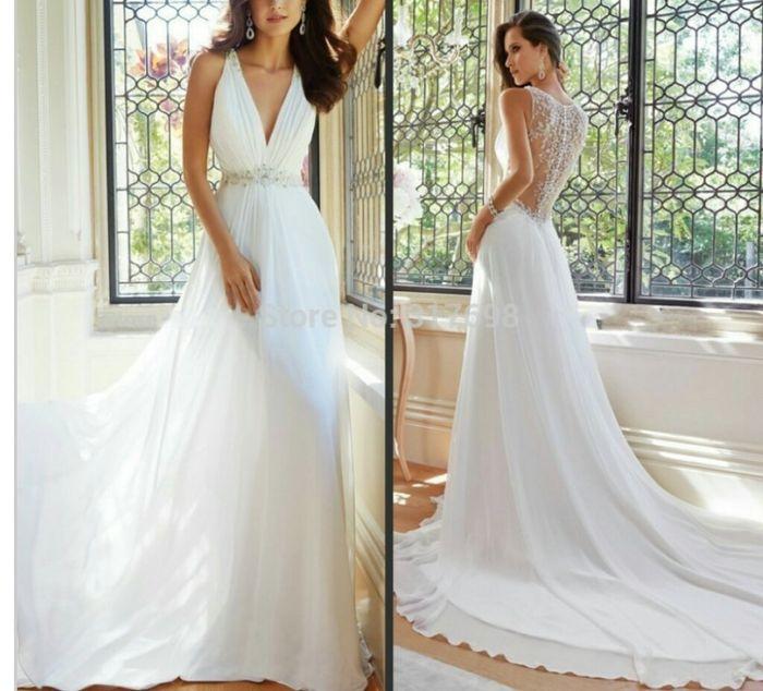 Vestiti Per Matrimonio Spiaggia : Abito da sposa adatto a cerimonia in spiaggia moda nozze