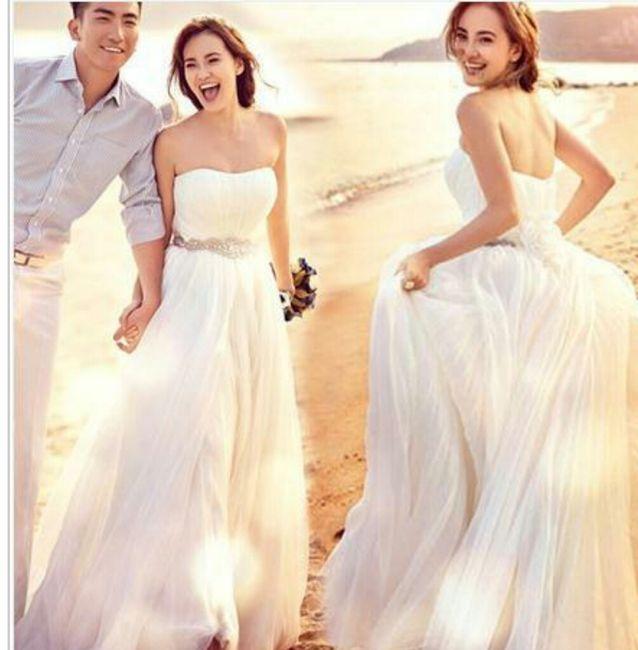 Matrimonio Spiaggia Abito : Abito da sposa adatto a cerimonia in spiaggia moda nozze