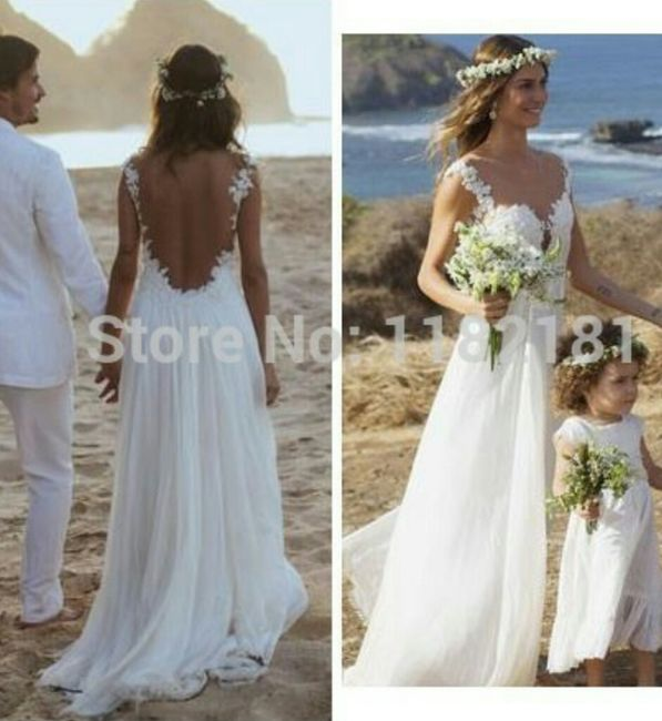 Matrimonio In Spiaggia Abito Sposa : Abito da sposa adatto a cerimonia in spiaggia moda nozze