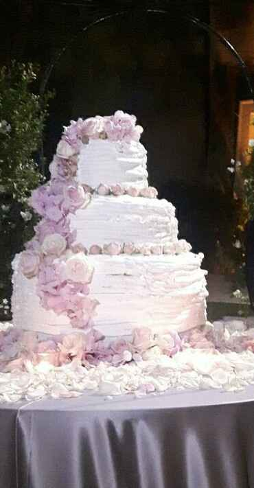 Wedding cake sia!! 🎂🎂🎂 - 1