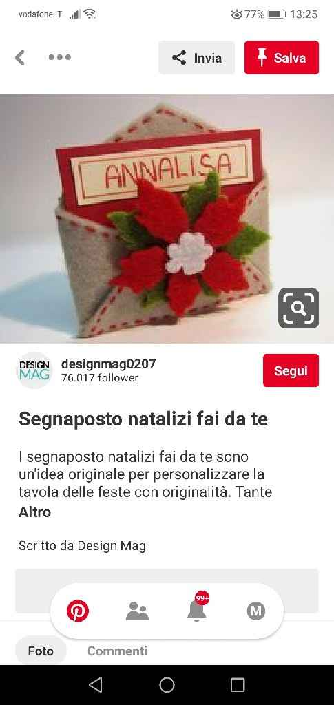 Segnaposti natalizi - 1