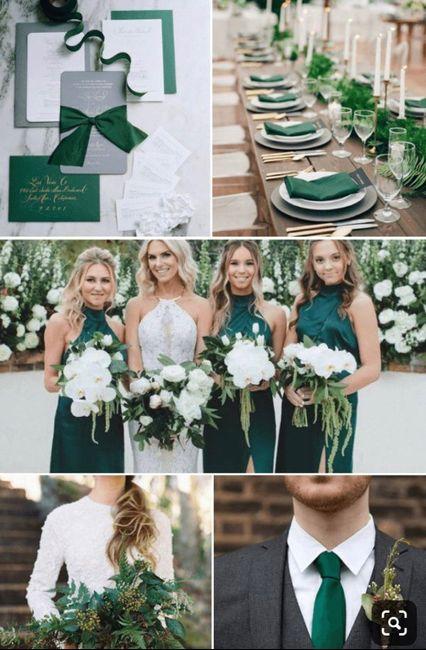 Matrimonio verde? 🍀👒🌱🌿💚 4