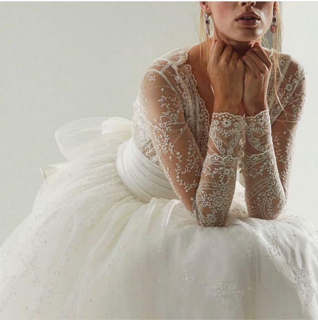 Abiti da sposa con le maniche! 8