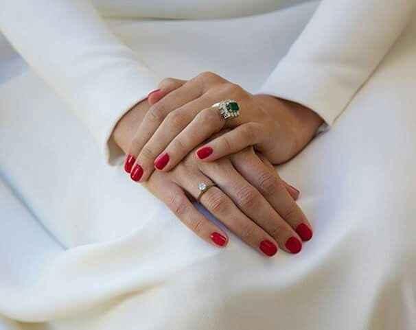 Unghie sposa rosse (mani e piedi) - 1