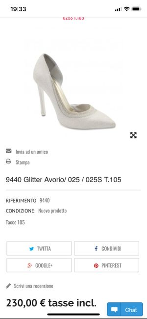 Scarpe sposa bianco seta - 2