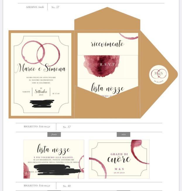 Spose.... condividete le vostre partecipazioni!! 😍😍 14