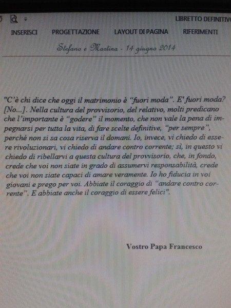 Frasi Matrimonio San Francesco.Preghiera Prima Pagina Libretto Messa Pagina 2 Cerimonia
