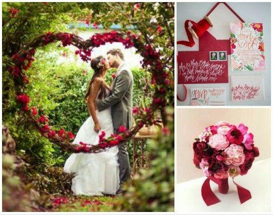 Matrimonio Tema Rosso : Matrimonio a tema consigli organizzazione