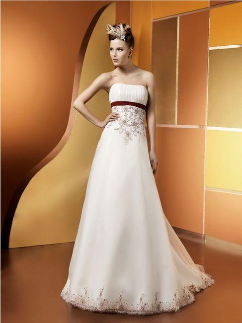 Matrimonio In Bianco E Rosso : Vestito da sposa bianco e rosso oserete pagina