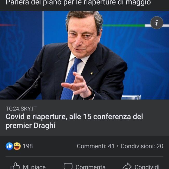 Conferenza Draghi ore 15 1