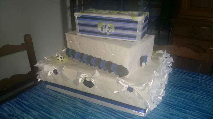 Torta portabuste:) - 1