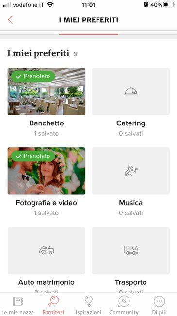 Condividi lo screenshot dei tuoi fornitori 20