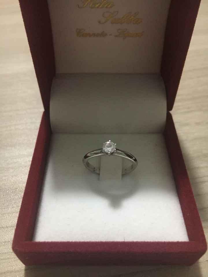 💍 Anello da proposta ? Post your photo bride! - 1