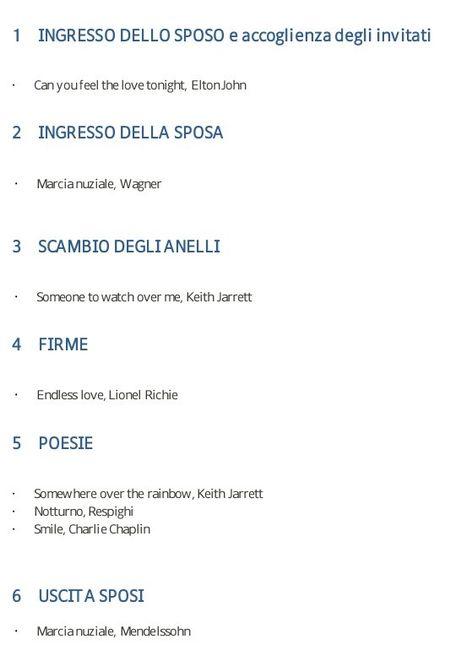 1790fd49947c Canzoni per rito civile - Organizzazione matrimonio - Forum ...