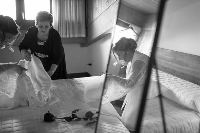 Foto della Camera da letto il giorno delle nozze 29