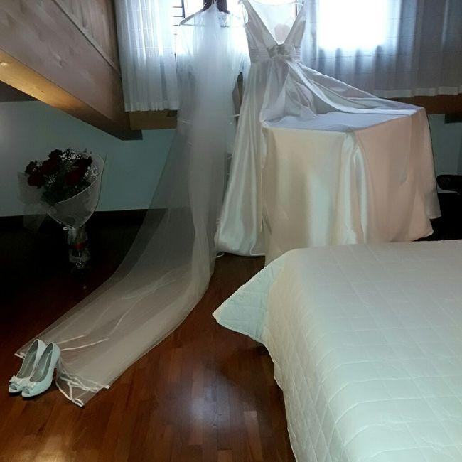 Foto della Camera da letto il giorno delle nozze 30