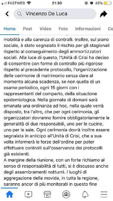 Ordinanza n.75 campania di deluca....restrizioni 3