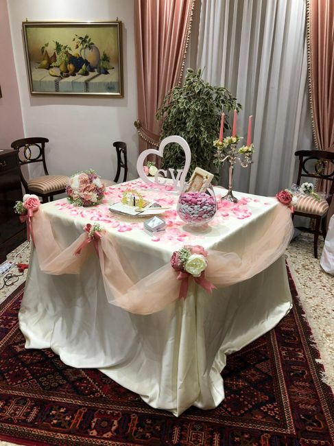 Tavolo casa sposa idee cercarsi - 1