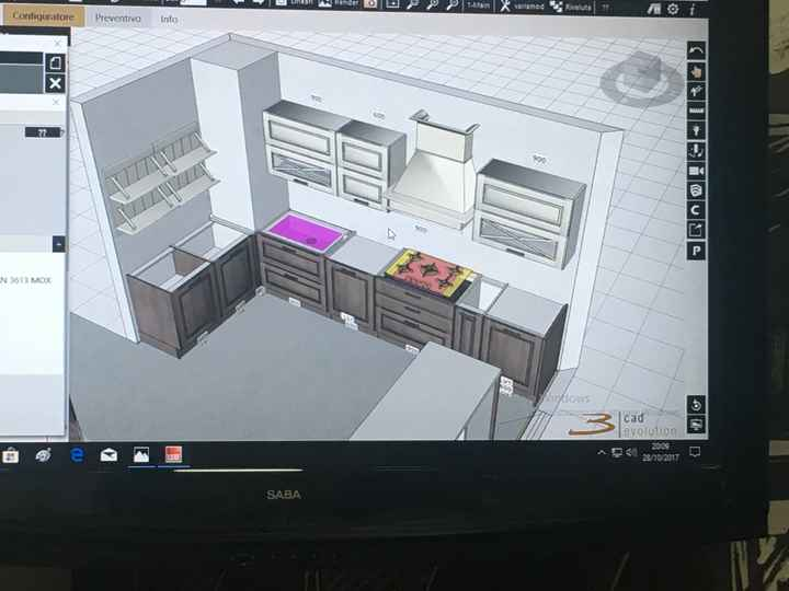 Disposizione cucina - 1