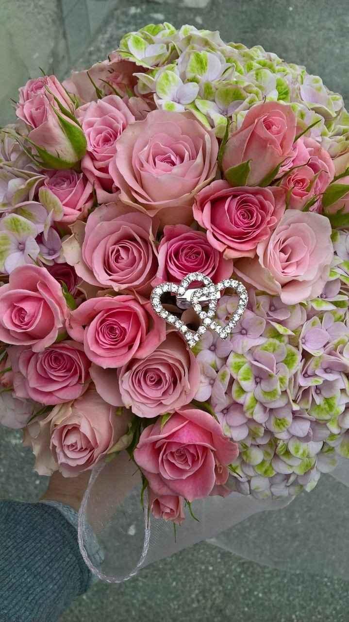 Bouquet a sorpresa per la promessa!