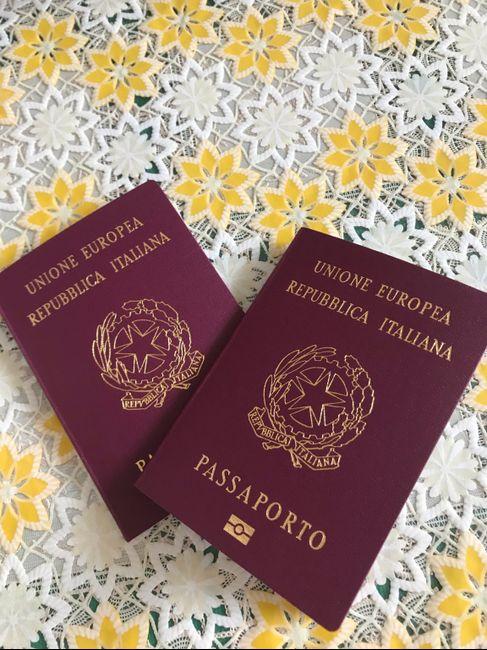 Passaporto ✔️ - 1