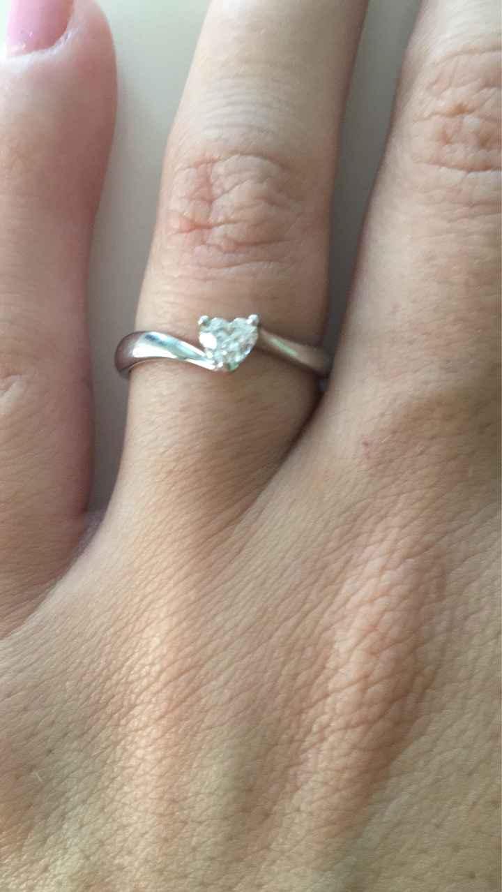 Anello proposta di matrimonio - 2