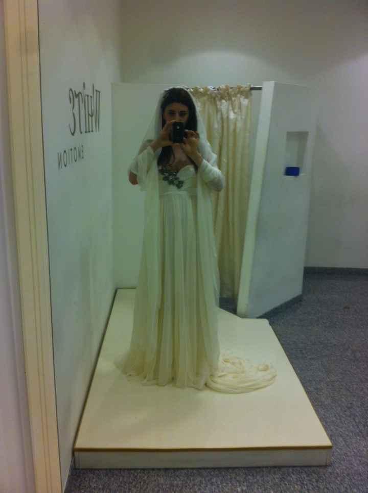 Prova abito sposa - 1