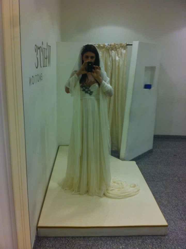 Prova abito sposa jenny packman - 3