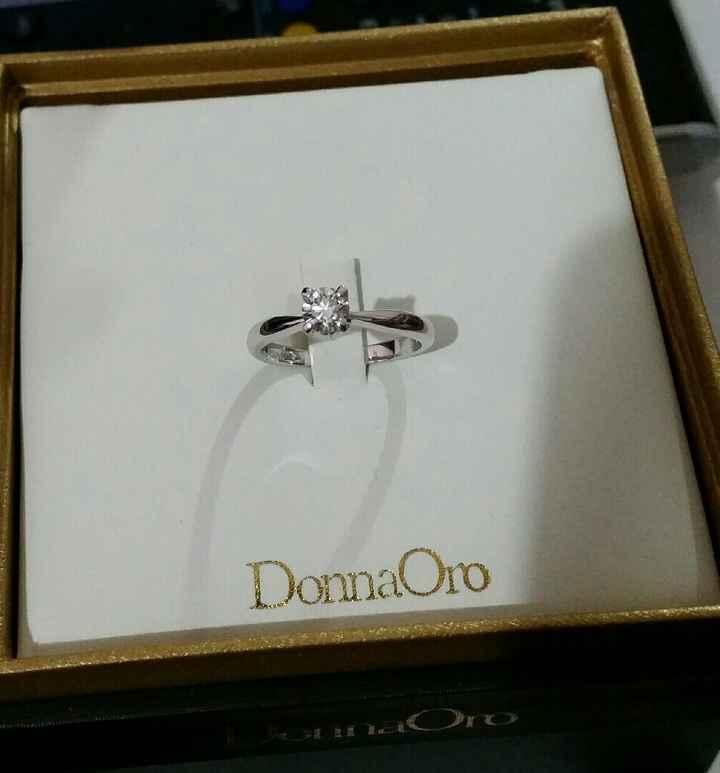 Curiosità: l'anello della proposta :-) - 1