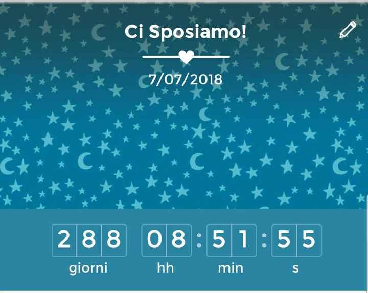 Il countdown di oggi! ❤ - 1