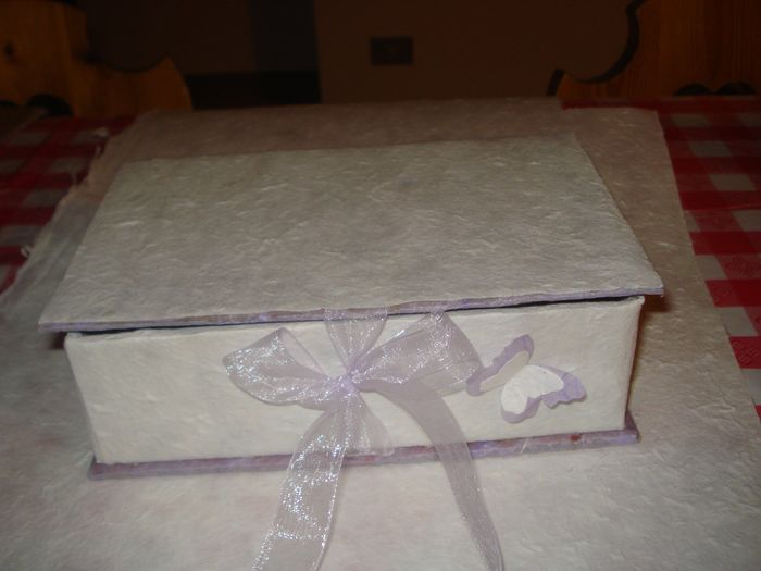 La mia scatola porta confetti pagina 5 fai da te - Scatola porta orecchini fai da te ...
