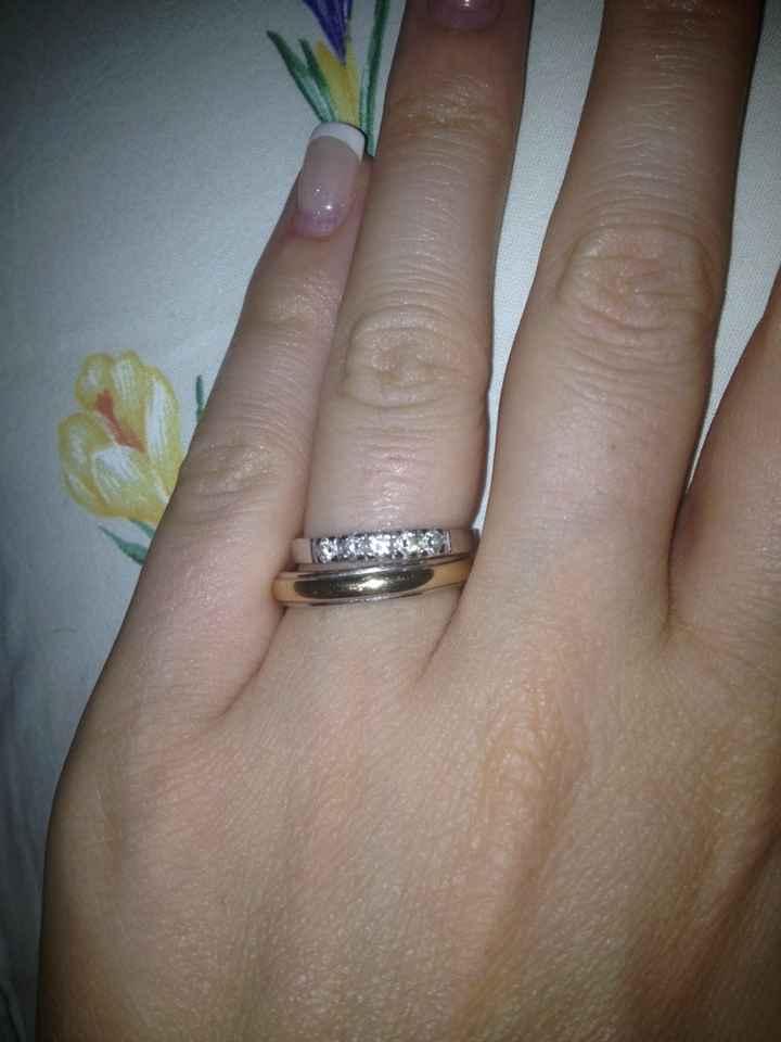 Anello regalato dalla suocera - 1