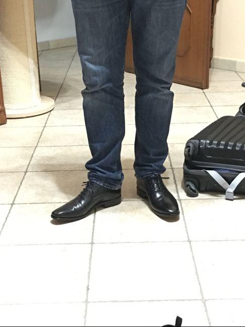 Ed ecco le scarpe dello sposo 🌸 3
