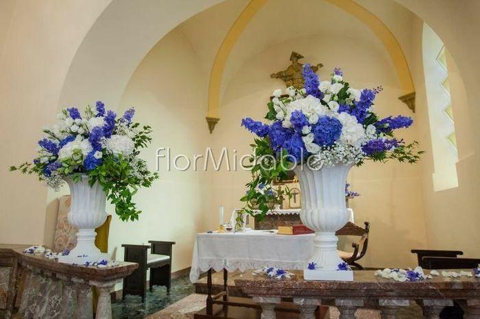 Decorazioni Matrimonio Azzurro : Bouquet sposa bianco blu fai da te forum matrimonio